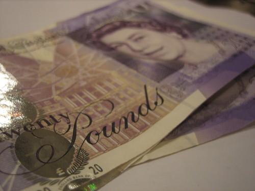 Twenty pound notes   by HowardLake