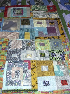 working on a quilt | by Kathryn Cramer