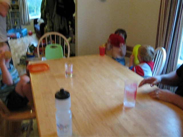 Toddlers at Dinnertime