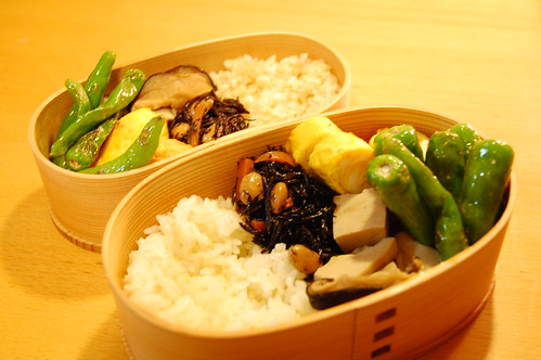 卵焼き、ししとうの炒め物 | by sota-k
