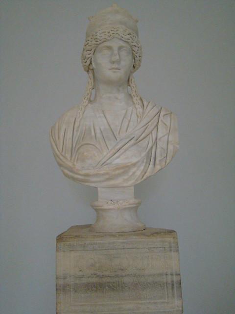 Busto Museo de Sabratha Libia 12