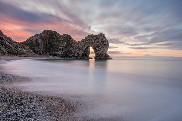 Durdle Door Sunrise (Long Exposure)