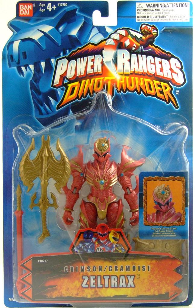 Power Rangers Dino Thunder Crimson Zeltrax | Flickr - Photo