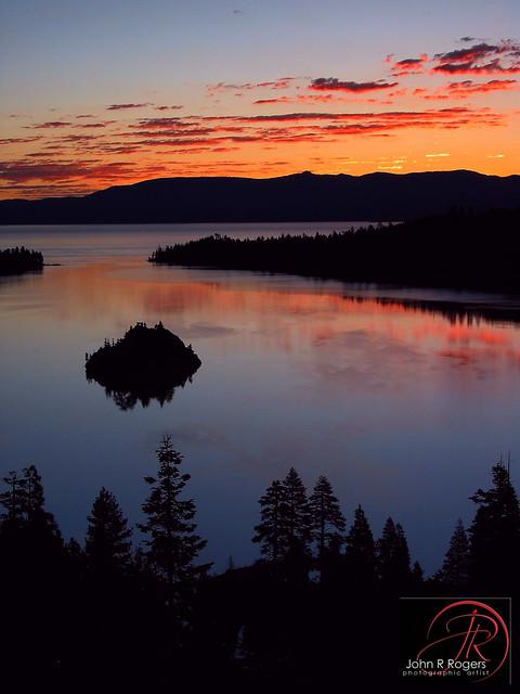 Emerald Bay, Lake Tahoe Sunrise 2