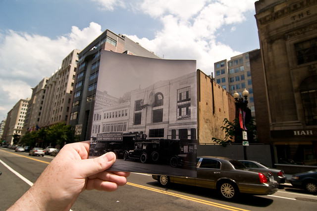 Looking Into the Past: 1340 G Street, Washington, DC