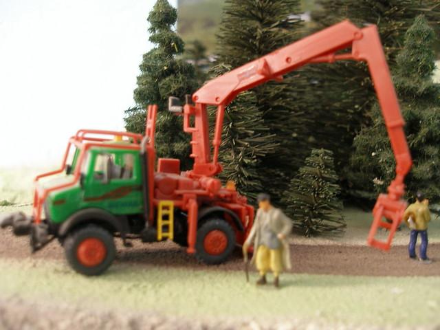 Unimog forestier