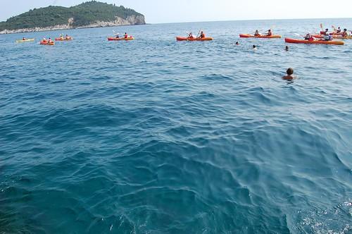 Adriatic Kayaks to Lokrum Island   by kawanet