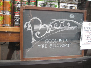 Beer: Good for the economy! | by BikeandBrew