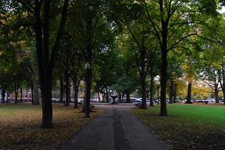 franklin square, south end | by karmacamilleeon