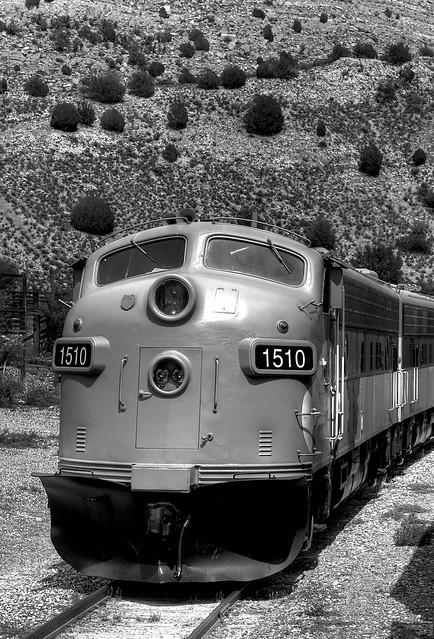 Verde Canyon Train Engine