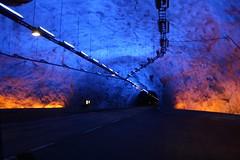 Tunnel di Lærdal