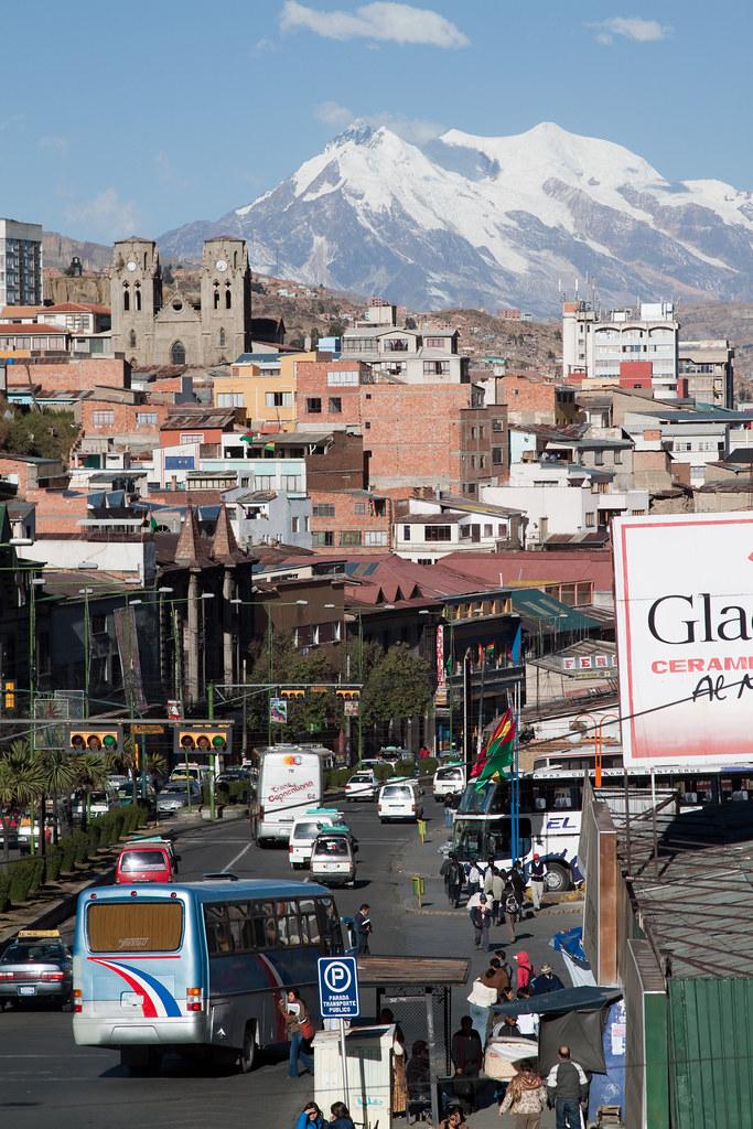 La Paz street view | Taken in La Paz, Bolivia on 21 July