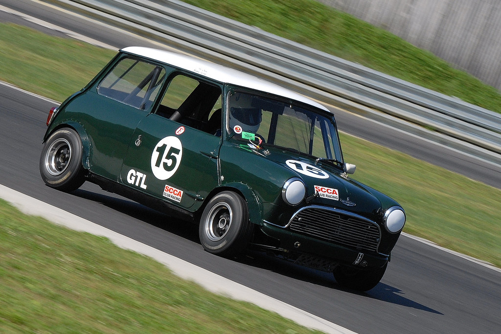 1966 Austin Mini Cooper In British Racing Green And Driven Flickr