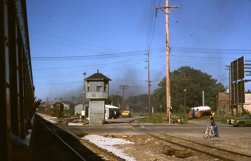 railroad tower harbor michigan chessie benton
