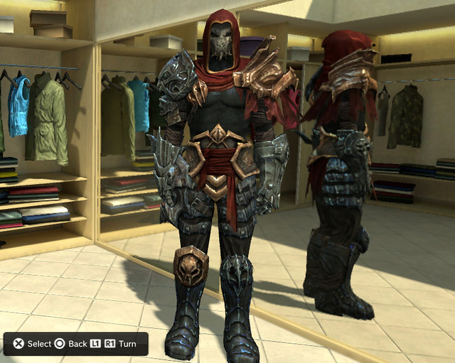 Darksiders War Costume | Free Darksiders costumes for PlaySt