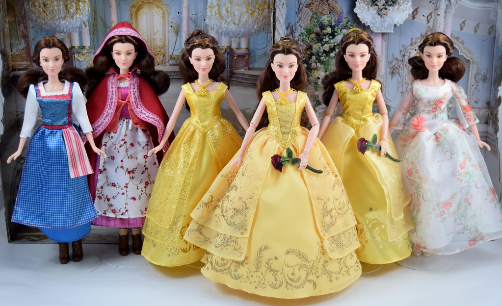 Disney Beauty and the Beast Royal Celebration Princess Doll ~ Belle and Prince