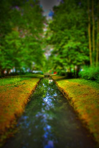 water river landscape canal wasser kanal dslr fluss landschaft brandenburg hdr stadtpark tiltshift spiegelreflex luckenwalde spiegelreflexkamera canoneos450d digitalrebelxsi kissx2