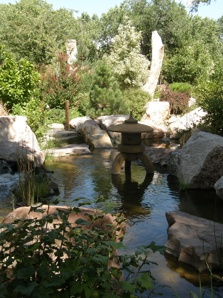The Japanese Gardens In Albuquerque,NM