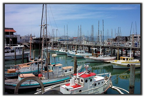 Fishermans Wharf, San Fran, Ca   by Rolling Stone2009