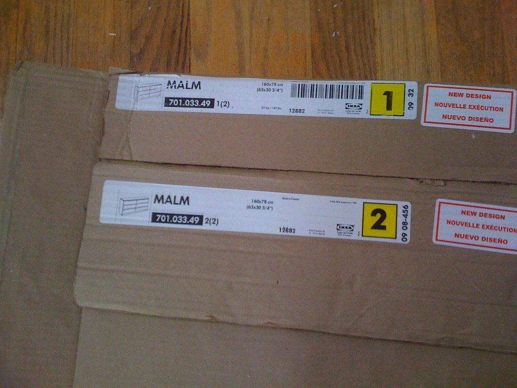 Ikea Malm 6 Drawer Dresser Assembly Step By Step Flickr
