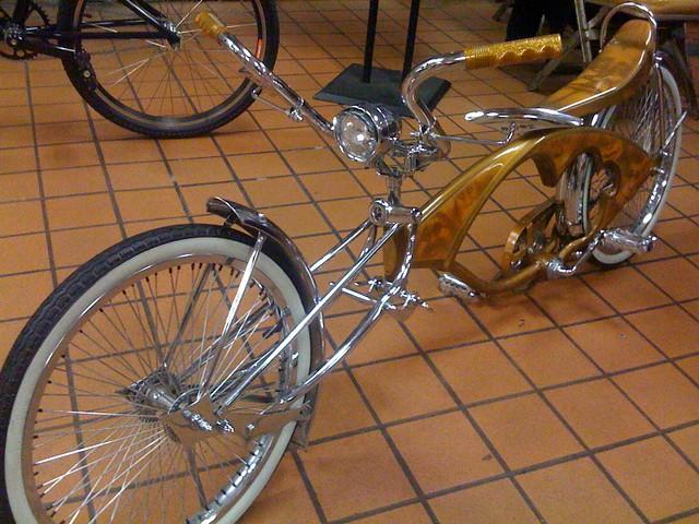 Lowrider bikes | SF Bike Expo, November 2009 | calitexican
