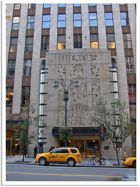 New York 2009 Daily News Building November 2009 Manhatta Flickr