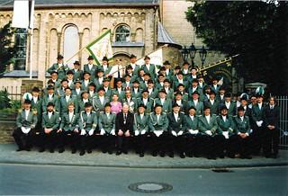 1993, Die gesamte Bruderschaft, Bild für das Jubiläum 1994, SW115 | by Sebastianer
