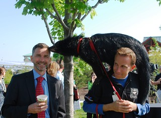 Assistant Secretary Tangherlini at the Cincinnati Zoo | by U.S. Department of the Treasury