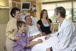 Family meeting with doctor   by ClearRiver Advertising & Marketing