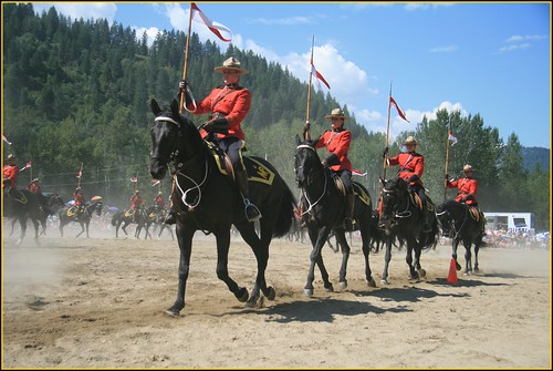 Castlegar RCMP Musical Ride | by arrowlakelass