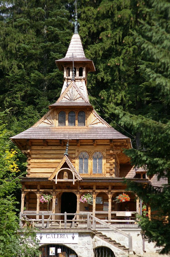 Kościół w Jaszczurówce / The church in Jaszczurówka