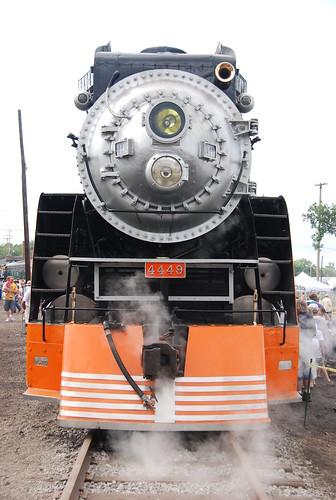 railroad festival mi train tank diesel michigan engine rail steam engines mich locomotive passenger fest 2009 owosso