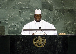 President of Gambia Addresses General Assembly | by United Nations Photo