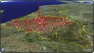 Population Belgian municipalities