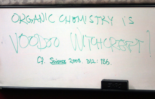 Organic Chemistry is Voodoo Witchcraft | by quinn.anya