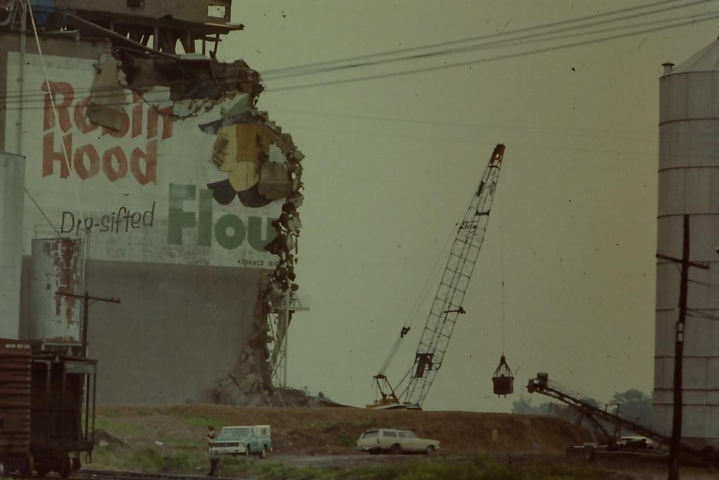 Robin Hood Flour mill sign