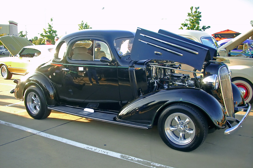 1936 Chevrolet Coupe Ft Worth Pd Fd Car Show Thanks To