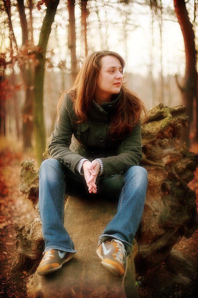 Lucia In Autumn Wood 4 by jyryk58