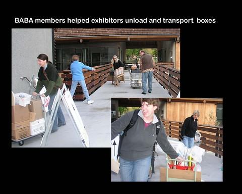 Book Arts Jam 2007 - Setup - slide 2