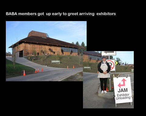 Book Arts Jam 2007 - Setup - slide 1