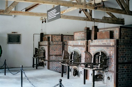 //15/2c/232 - CREMATORY OVENS / DACHAU CONCENTRATION CAMP, WEST GERMANY 1987