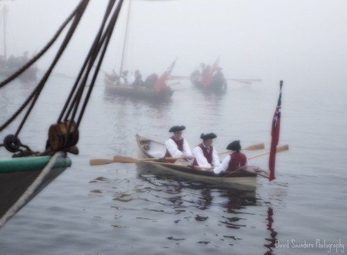 morning fog sunrise coast ship shore sail british tall ha reenactment redcoats bostonteaparty copyrightallrightsreserved davidsaunders dsc9774 scottkelbysworldwidephotowalkhalifax davethehaligonian whatsunrise thebritsretreatintothefog