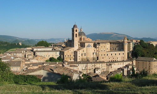 Urbino - Central Italy - July 2006 - Viewed From a Hill