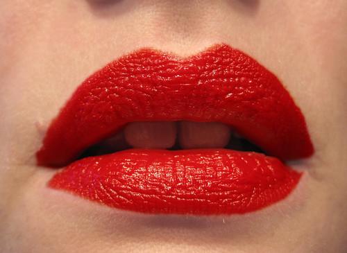 rote Lippen soll man küssen | by frau-Vogel