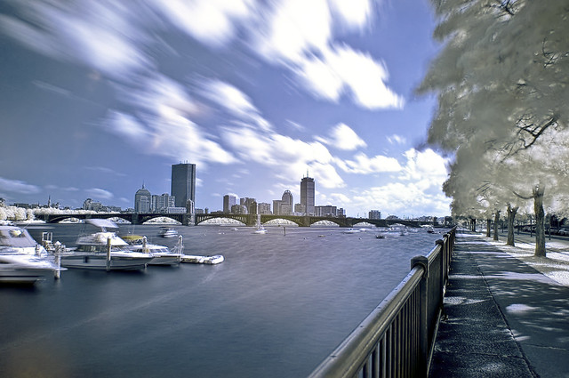 A new view on Boston in Infrared