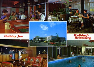 Holiday Inn, Heidelberg (postcard)