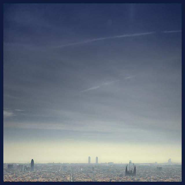 Barcelona's towers