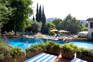 View of Pool | by Hotel Montecatini Terme
