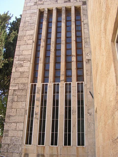 Erich Mendelsohn - Schocken library, jerusalem - thermometer