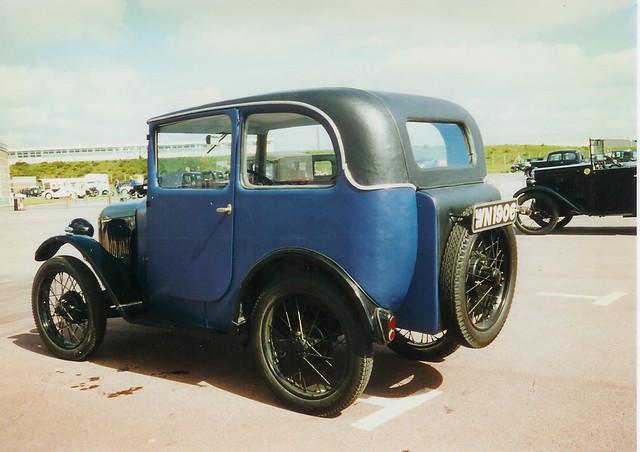 1929 Austin 7 Gordon England Wembley Saloon